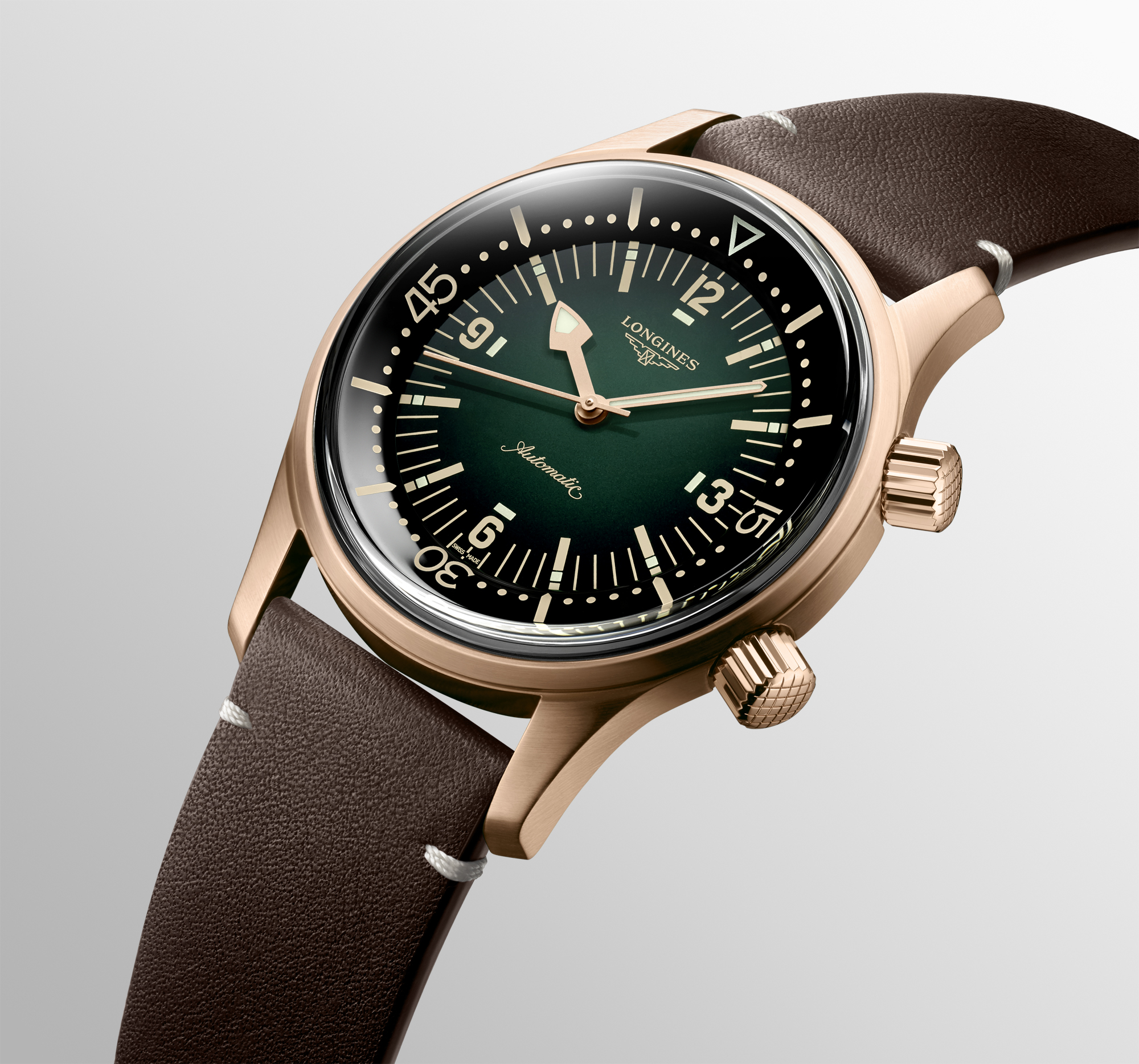Longines Legend Diver in Green